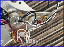 08 Fender American Standard Stratocaster Loaded Pickguard & Trem Cover USA Strat