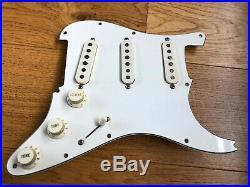 1973 Vintage Fender Stratocaster Strat Loaded Pickguard Pots 3 Way Covers Pickup