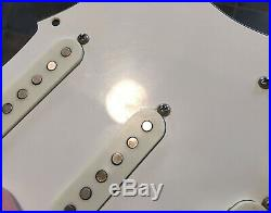 1975 / 1976 Fender Stratocaster loaded pickguard, original vintage Strat pickups