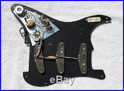 1977 1978 Fender Stratocaster loaded pickguard, original vintage Strat pickups