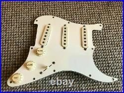 1979 / 1981 Vintage Fender USA Stratocaster Strat White Loaded Pickguard Pickups