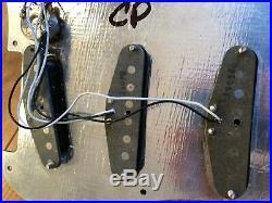 1979 Vintage Fender USA Stratocaster Strat Loaded Pickguard Pickups Covers 5 Way