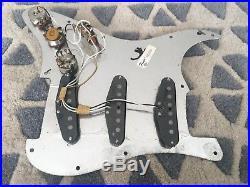 1979 Vintage Fender USA Stratocaster Strat Loaded Pickguard Pots 5 Way Covers
