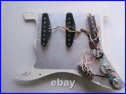 1980s USA Fender Stratocaster loaded pickguard strat Dimarzio super hots Metal