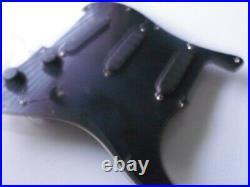 1980s USA Fender Stratocaster loaded pickguard strat EMGs active relic