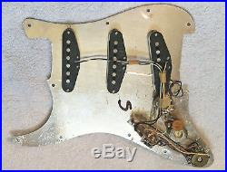 1981 1982 Fender The STRAT Stratocaster loaded pickguard X1 bridge pup / pickups