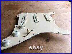 1982 Fender Japan Vintage JV Stratocaster Strat Loaded Pickguard Pickups Pots