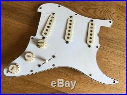 1982 Vintage Fender Dan Smith Stratocaster Strat Loaded Pickguard X-1 Pickup