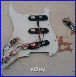 1989 EMG SA 1988 Fender American USA Stratocaster Loaded Strat Pickguard Pots
