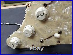 1996 Fender Strat Plus LOADED PICKGUARD Gold Lace Sensor Pickups USA 90's Guitar