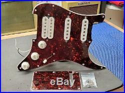 1997 Fender Lonestar USA Strat HSS LOADED PICKGUARD Duncan PGP & Texas Specials
