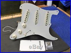 2000 Fender Classic 50's Strat Guitar LOADED PICKGUARD Pickups Pots Knobs Switch
