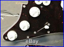 2001 Fender Lonestar USA Strat HSS LOADED PICKGUARD Duncan PGP & Texas Specials