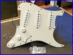 2004 Fender Highway One Strat Pre-wired Guitar USA Pickups LOADED PICKGUARD