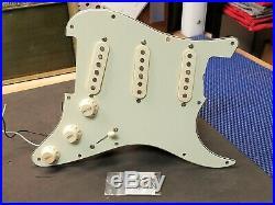 2007 Fender Classic 60's LOADED PICKGUARD Vintage Reissue Strat Guitar Relic