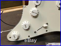 2007 Fender Highway One Strat Pre-wired Guitar USA Pickups LOADED PICKGUARD