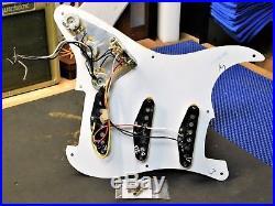 2008 Fender 50's Road Worn Strat LOADED PICKGUARD Tex-Mex Pickups Heavy Relic