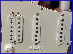 2008 Fender HSS Stratocaster LOADED PICKGUARD Humbucker Pickup USA Strat Guitar