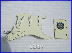 2011 Fender American Standard Loaded Strat Pickguard - Stratocaster