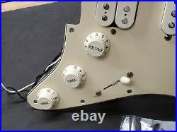 2011 Fender Standard Strat HSS LOADED PICKGUARD Bridge Humbucker Electric Guitar