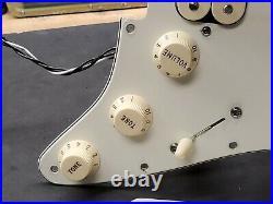 2012 Fender USA Strat HSS LOADED PICKGUARD Humbucker & Fat 50's Pickups Guitar