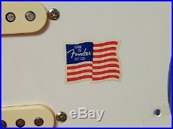 2012 Fender USA Vintage 57 Reissue Strat Guitar LOADED PICKGUARD & TREMOLO COVER