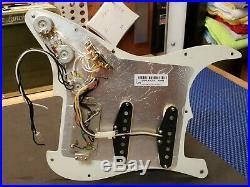 2013 Fender USA Strat HSS LOADED PICKGUARD Humbucker & Fat 50's Pickups Guitar