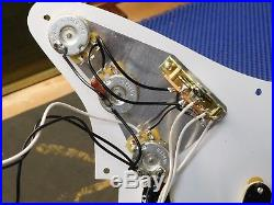 2015 Fender Classic 50's Strat Guitar LOADED PICKGUARD Pickups Pots Knobs Switch