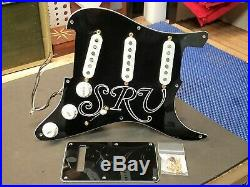 2015 Fender USA Stevie Ray Vaughan Strat LOADED PICKGUARD Texas Special Pickups