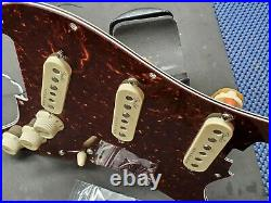 2017 Fender USA Elite Strat Tortoise LOADED PICKGUARD Noiseless Pickups Guitar