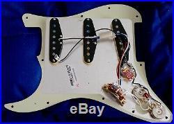 2018 Fender American Professional Stratocaster LOADED PICKGUARD Strat V-Mod pups