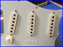 2019 Fender American Strat Loaded PICKGUARD Yosemite Pickups USA Electric Guitar