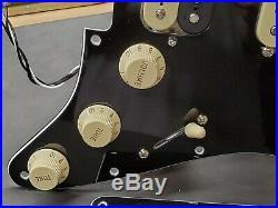 2020 Black Fender Player HSS Stratocaster LOADED PICKGUARD for Humbucker Strat