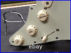 2020 Fender Classic Player 60's Strat LOADED PICKGUARD Custom Shop 69's Pickups