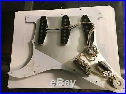 57/62 loaded American Fender strat pick guard