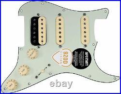 920D Custom Fiesta Pickups Loaded MINT GREEN Pickguard for HSS Fender Strat