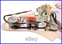 920D Custom Loaded Pickguard for Strat / Fender Fat'50s Cream