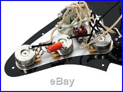920D Custom Loaded Strat Pickguard Seymour Duncan SSL-5,'Fender 69, Fat 50's