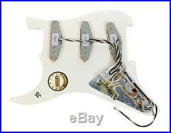 920D Custom Loaded Strat Stratocaster Pickguard Fender Custom'69 Pickups TO/BK