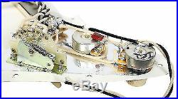 920D Custom Loaded Strat Stratocaster Pickguard Fender Custom'69 Pickups WP/BK