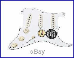 920D Custom Loaded Strat Stratocaster Pickguard Fender Custom Shop'69 WH/AW