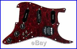 920D Custom Shop Duncan Rails Loaded Stratocaster Strat Pickguard 2 Toggle TO/BK