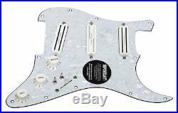 920D Custom Shop Duncan Rails Loaded Stratocaster Strat Pickguard 2 Toggle WP/WH