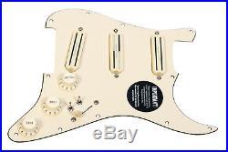 920D Custom Shop Duncan Rails Loaded Stratocaster Strat Pickguard 7 Way CR/AW