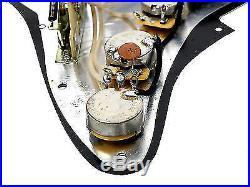 920D Custom Shop Fender Custom'54 Loaded Strat Stratocaster Pickguard WP/BK
