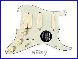 920D Custom Shop Lace Sensor Gold Loaded Strat Pickguard
