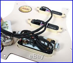 920D Custom Shop Lace Sensor Gold Loaded Strat Pickguard Splittable Dually MG/AW