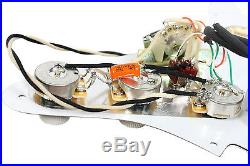 920D Custom Shop Lace Sensor Gold Loaded Strat Pickguard Splittable Dually WH/WH