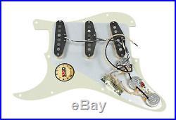 920D Custom Shop Loaded Pickguard Fender Strat Rio Grande Muy Grande Tortoise