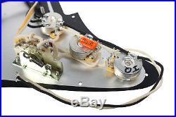920D Custom Shop Texas Special Loaded Pickguard Fender Strat 7 Way MG/BK